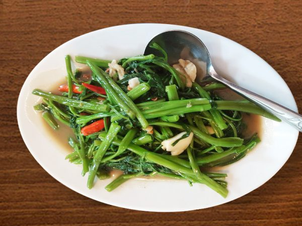 Gewokte groente Kaew Authentiek Thai